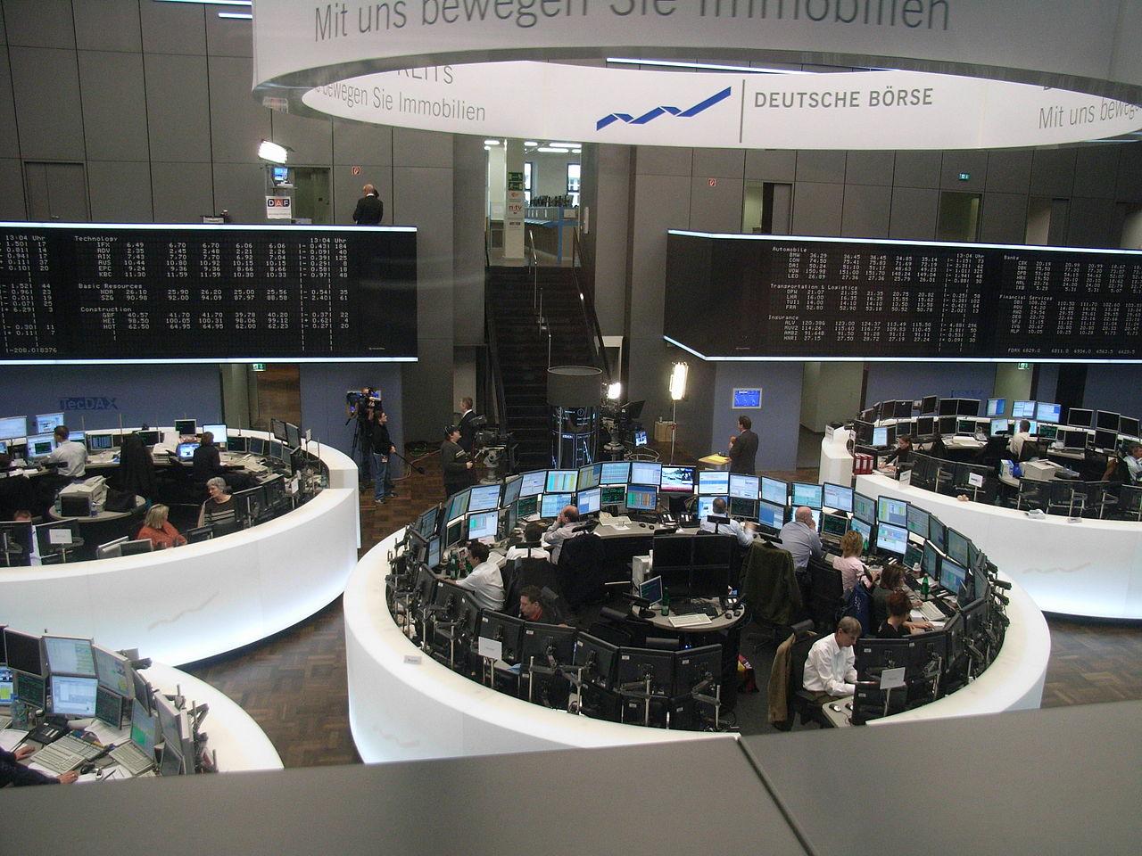 Die Frankfurter Börse